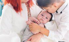 Cum arată fiica Elenei Gheorghe, la 7 luni. Detaliul observat de fani în fotografie