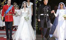 Comparație Regală: Nunta Prințului William cu Kate vs. Nunta Prințului Harry cu Meghan