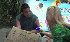 A stat trei săptămâni cu 100 de lei în Vamă, după ce a scris un mesaj pe o pancartă