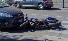 Vedeta TV implicata intr-un accident auto. A lovit un tanar pe scuter