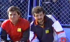 VIDEO Ca la 30 de ani » Imagini GENIALE cu Gigi și Victor Becali în '89, la prima lor apariție în anturajul