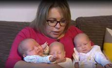 """O """"eroare sexuală"""" i-a adus tripleți unei femei. Cum au fost concepuți copiii"""