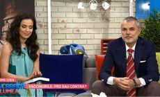 Olivia Steer, discutie cu dr. Mihai Craiu, cunoscut pediatru. Schimbul de replici a fost dur
