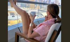 Anamaria Prodan a atras toate privile în Dubai » Apariție incendiară la piscină