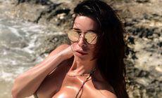 BOMBA SEXY care a facut show pe plaja in Dubai! Cum arata acum femeia cu care a avut Adi Mutu o aventura