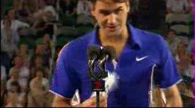 VIDEO / Vezi cum a izbucnit Federer în plâns