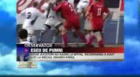 Vezi bătăia de la Dinamo-Farul în viziunea Cârcotaşilor