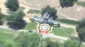 Neverland-ul lui Michael, filmat din elicopter de paparazzi