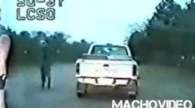 Video / Un american a executat un poliţist pe stradă