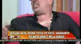 Serghei Mizil se ia de Cârcotaşi: