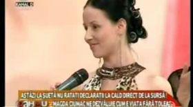 Magda Ciumac s-a împăcat cu Tolea!