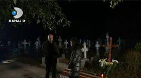 Dr. Cristian Andrei face terapie în cimitir