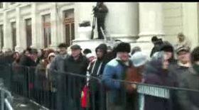 Video | Sute de români au participat la slujba de Bobotează de la Mitropolie