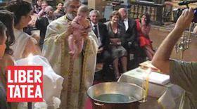Vezi video de la botezul fiicei lui Chivu