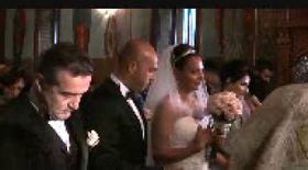 Gigi Becali s-a distrat de minune la nunta nepotului său, unde a fost naş