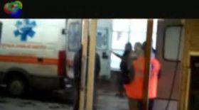 Interlopul ciuruit în centrul oraşului Constanţa ajunge la spital