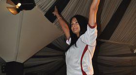 """Roxana Dobre, """"reprezentanta"""" Rapidului, e cea mai sexy fană din Liga 1"""