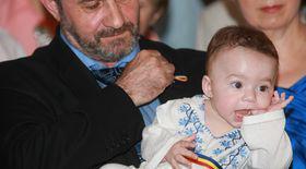 Dragoș Dolănescu și-a botezat fiul