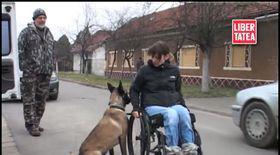 Căţeluşa Rubini a devenit prietena de nădejde a unei tinere cu dizabilităţi din Arad