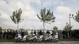 Poliţistul Bogdan Gigină a fost înmormântat cu onoruri militare