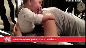 Andreea Mantea, joacă adorabilă cu băiețelul său | VIDEO
