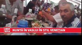 Nuntă în stil venețian în Vaslui   VIDEO