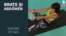 FIT YOU! Exerciţii pentru braţe şi abdomen