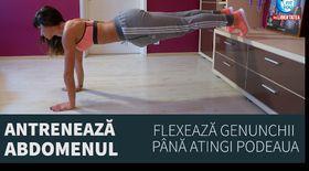 FIT YOU AT HOME ! Antrenează abdomenul cu Antrenor Diana Stejereanu
