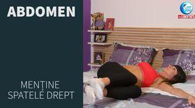 FIT YOU AT HOME! Antrenează abdomenul chiar și atunci când stai în pat cu Antrenor Diana Stejereanu