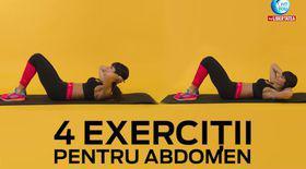 FIT YOU! 4 exerciţii alternative pentru abdomen cu Antrenor Diana Stejereanu