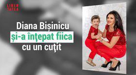 """VIDEO EXCLUSIV/ Diana Bișinicu și-a înțepat intenționat fiica cu un cuțit. """"Imaginea aceea mă obsedează"""""""