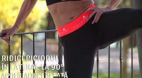 Sport cu Diana. Exerciții pentru interiorul coapselor