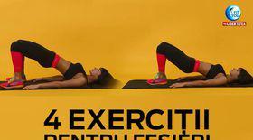 FIT YOU! 4 exerciţii alternative pentru fesieri cu Antrenor Diana Stejereanu