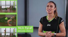 Exerciții dinamice și complexe cu Anca Bucur