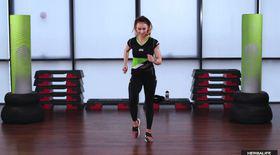 Exerciții cardio cu Anca Bucur