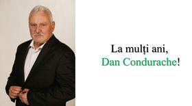 La mulți ani,  Dan Condurache!