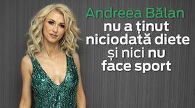 """VIDEO EXCLUSIV/ Andreea Bălan se menține în formă cu ajutorul...dansului. """"Nu am nevoie de sală, de diete, de nimic"""""""