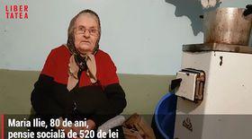 Contabilitatea tristă a sărăciei: pensionarii cu venituri mici nu au dreptul la ajutor de încălzire. Lemnele de foc, udate cu lacrimile bătrânilor