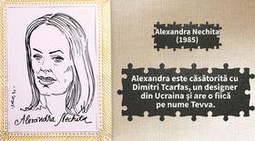 Români de care suntem mândri: Alexandra Nechita