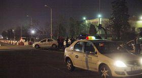 Bătaie între taximetriști și șoferi Uber la Timișoara. Mascații au intervenit în forță
