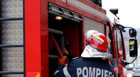 Incendiu într-un centru comercial din Buzău în care funcționează Judecătoria