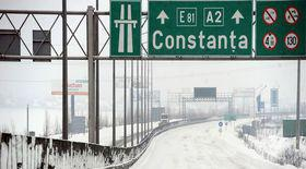 Circulația pe A2 închisă din cauza ploii înghețate. Este afectată porțiunea dintre Fundulea și Drajna