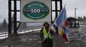 Grupul de unioniști orbi a plecat spre Chișinău pe viscol