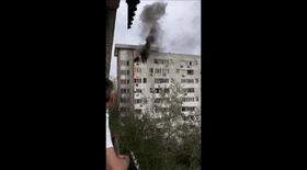 Incendiu într-un bloc din sectorul 6 din București. Pompierii, trimiși la fața locului
