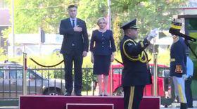 Gafă de protocol a Vioricăi Dăncilă la primirea premierului croat
