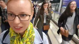 VIDEO BLOG/ Drumul spre Castelul Windsor. Cum arată metroul din Londra