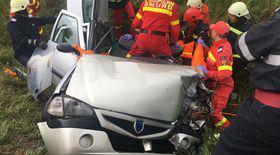 Accident cu patru victime, între Hoghiz şi Rupea Gară, judeţul Braşov