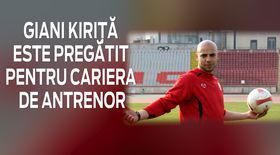 VIDEO EXCLUSIV/ Fostul fotbalist Giani Kiriță se pregătește să devină antrenor