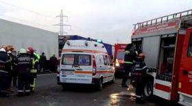 Înregistrare spectaculoasă cu accidentul cu nouă răniți în care a fost implicată o mașină de pompieri din Bacău