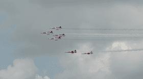BIAS 2018, spectacol total de la cer la pământ, la show-ul aviatic din Bucureşti